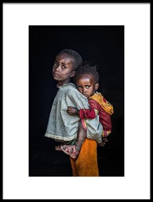 Buy this art print titled Siblings by the artist Melih Karakaya
