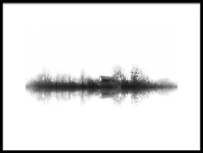 Art print titled Silence by the artist Boris Hristov