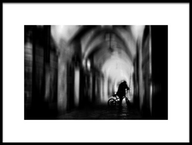 Art print titled Silence by the artist Elhanan S.R.