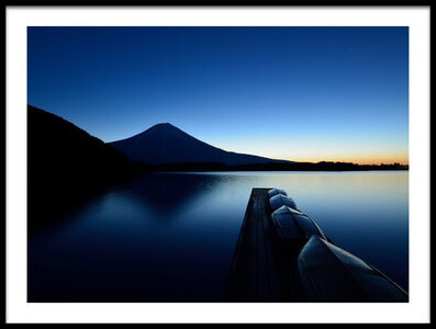 Art print titled Silence by the artist Manabu Isei