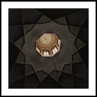 Buy this art print titled Simple Stucco by the artist Ali Tafazoli Yazdi