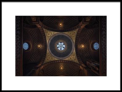 Art print titled Sinagoga EspaolaPraga by the artist Juan Manuel Fernandez Lopez