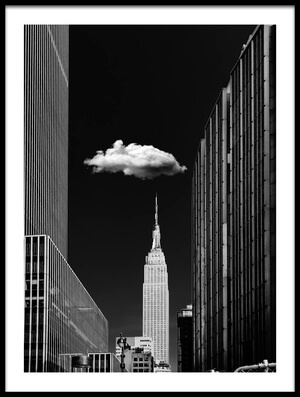 Art print titled Single Cloud by the artist Jackson Carvalho
