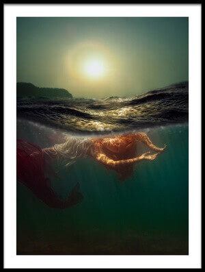 Buy this art print titled Siren by the artist Dmitry Laudin
