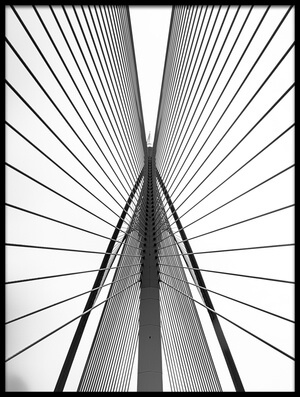 Buy this art print titled Siri Wawsan Bridge by the artist Ahmed Thabet