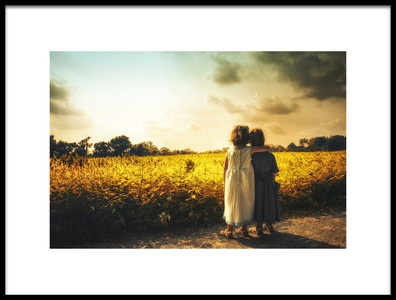 Buy this art print titled Sisters by the artist Christian Lechtenfeld