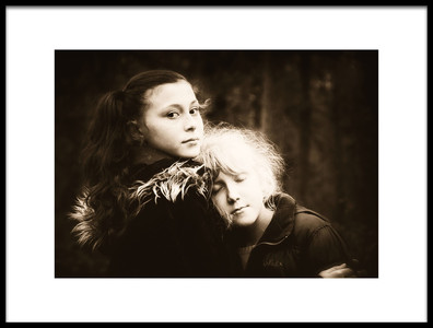 Art print titled Sisters by the artist Alicja O'Sullivan
