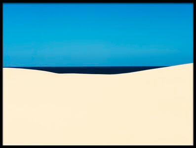 Buy this art print titled Sky Sea Desert by the artist Liloni Luca