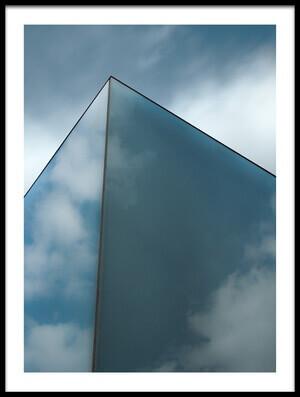 Art print titled Skyreflect by the artist Gilbert Claes