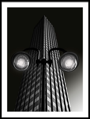 Buy this art print titled Skyscraper With Glasses by the artist Anette Ohlendorf