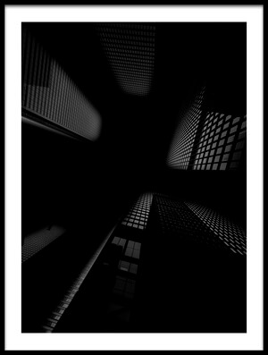 Buy this art print titled Skyscrapers by the artist Henry Zhao