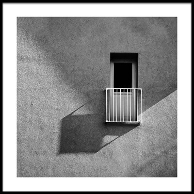 Buy this art print titled Small Balcony and Its Shadow by the artist Inge Schuster