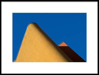 Art print titled Small Triangle by the artist Rolf Endermann
