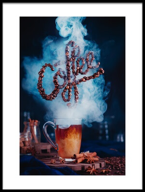 Buy this art print titled Smell the Coffee by the artist Dina Belenko