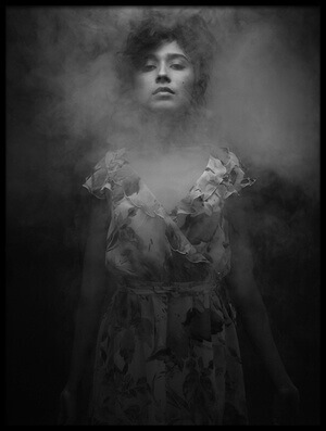 Buy this art print titled Smoky Mood by the artist Artem Vasilenko