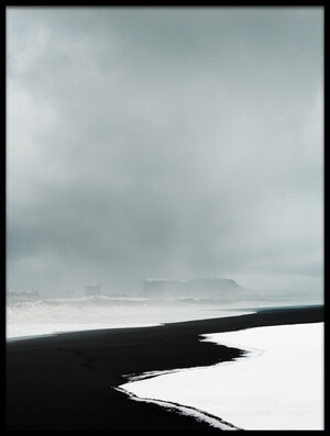 Art print titled Snow Storm, by the artist Adrian Theze