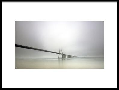Buy this art print titled Soft Bridge by the artist Jorge Feteira