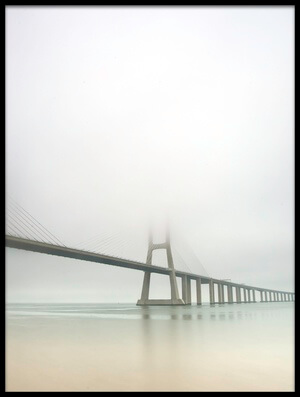 Buy this art print titled Soft Bridge by the artist Jorge Feteira