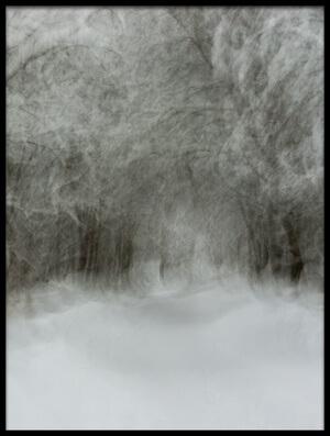 Art print titled Soft Snow by the artist Arne Östlund