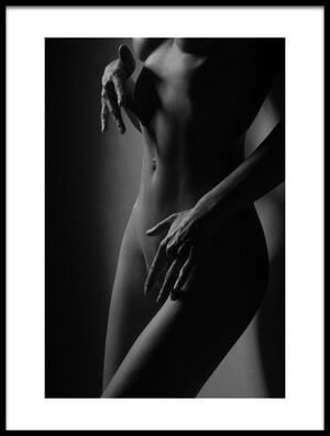 Art print titled Soft Touch by the artist Christophe CLOVIS