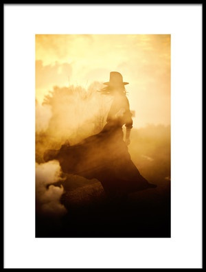 Buy this art print titled Solitude by the artist Bez Dan