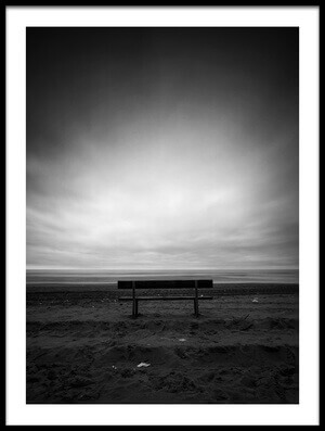 Buy this art print titled Solitude Bench by the artist Massimo Della Latta