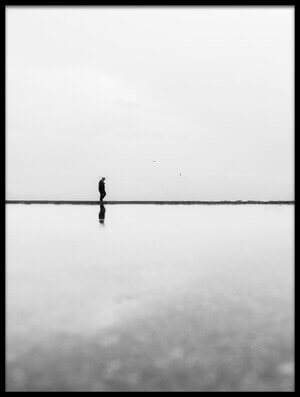 Buy this art print titled Solitude I by the artist Ali Ayer