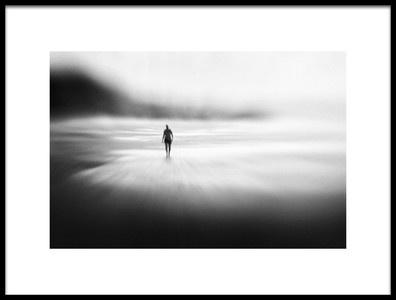 Art print titled Solitude West Coast Walk by the artist Marianne Siff Kusk