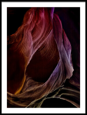 Art print titled Solo Journey In Earth's Womb (1) by the artist Yvette Depaepe