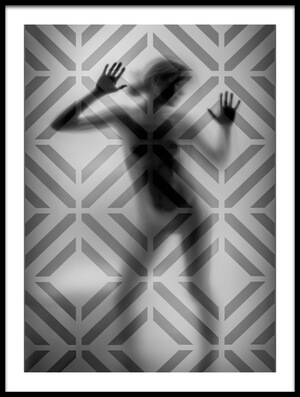 Buy this art print titled Sombras a Contrasluz by the artist C. Israel Chamorro