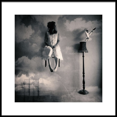 Art print titled Sometimes Im Floating by the artist Magdalena Russocka
