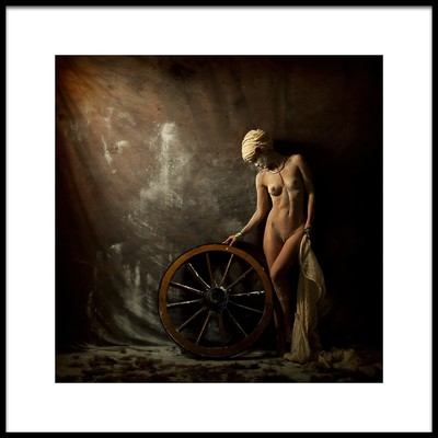 Buy this art print titled Sophie and the Weel by the artist Marc Meyer