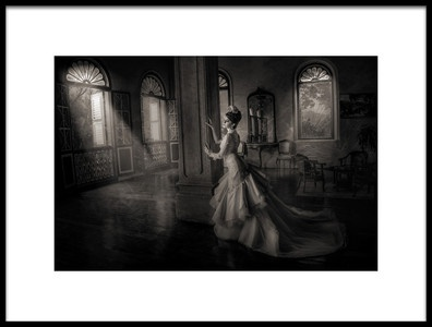 Art print titled Sorrow by the artist Rommy