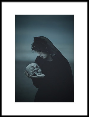 Art print titled Sorrow by the artist Magdalena Russocka