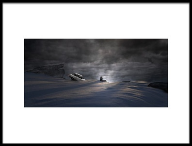 Art print titled Sortie De Route 2 by the artist David Senechal Photographie (polydactyle)