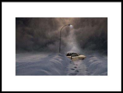 Art print titled Sortie De Route by the artist David Senechal Photographie (polydactyle)