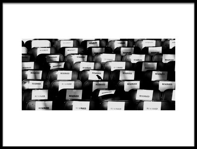 Buy this art print titled Sparrow:No. More Seats by the artist Jian Wang