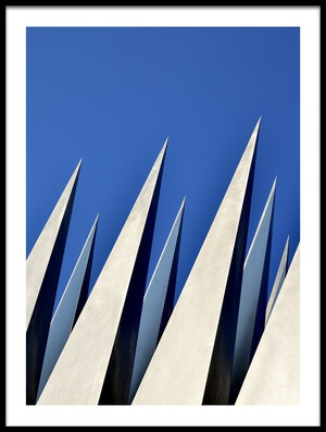 Buy this art print titled Spears In the Sky by the artist Christina Sillèn