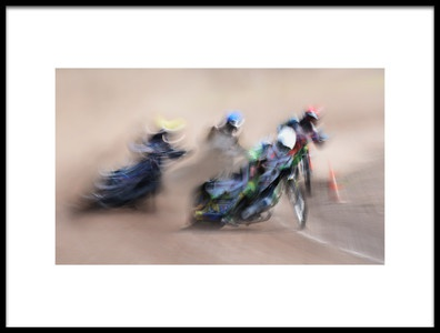 Art print titled Speedway by the artist Lou Urlings