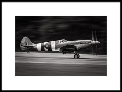 Buy this art print titled Spitfire MK XIX by the artist Jerome Licois