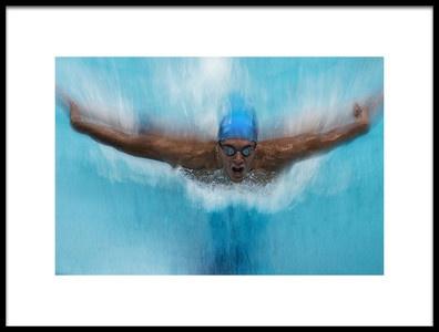 Art print titled Splash by the artist milan malovrh
