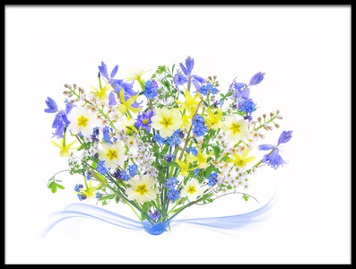 Art print titled Spring Bouquet by the artist Jacky Parker