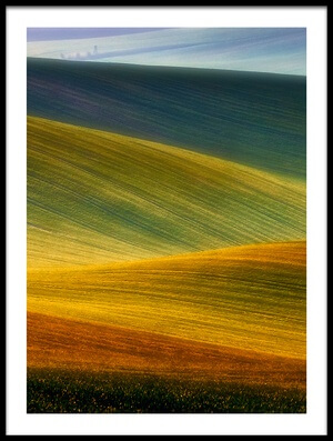 Buy this art print titled Spring Fields by the artist Piotr Krol (Bax)