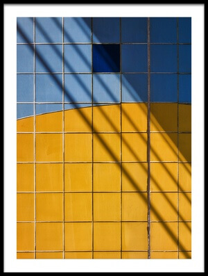 Buy this art print titled Square-\-Shadow by the artist Henk van Maastricht