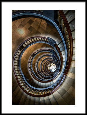 Buy this art print titled Staircase by the artist Dennis Mohrmann