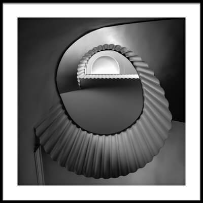 Art print titled Staircase by the artist Renate Reichert