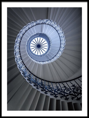 Art print titled Staircase by the artist Sus Bogaerts