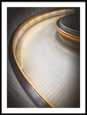 Buy this art print titled Staircase at Ottawa Train Station by the artist Richard Huang
