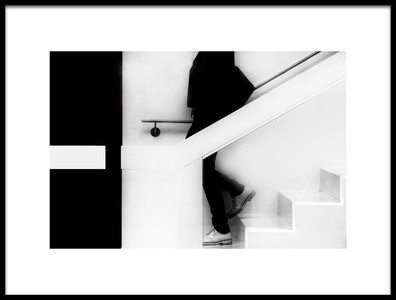Art print titled Stairs by the artist Jef Flour