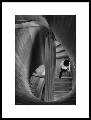 Art print titled Stairs by the artist Andreas Bauer